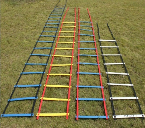 2014 New Top Quality 16.5 Feet long Soccer Training Speed Agility Ladder and Carry Bag(China (Mainland))