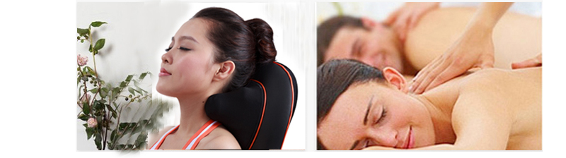 Kneading Shiatsu Massage Cushion with Heat Electric Infrared Massager Neck Back Massager Machine for Health Care 80152B1 cheap