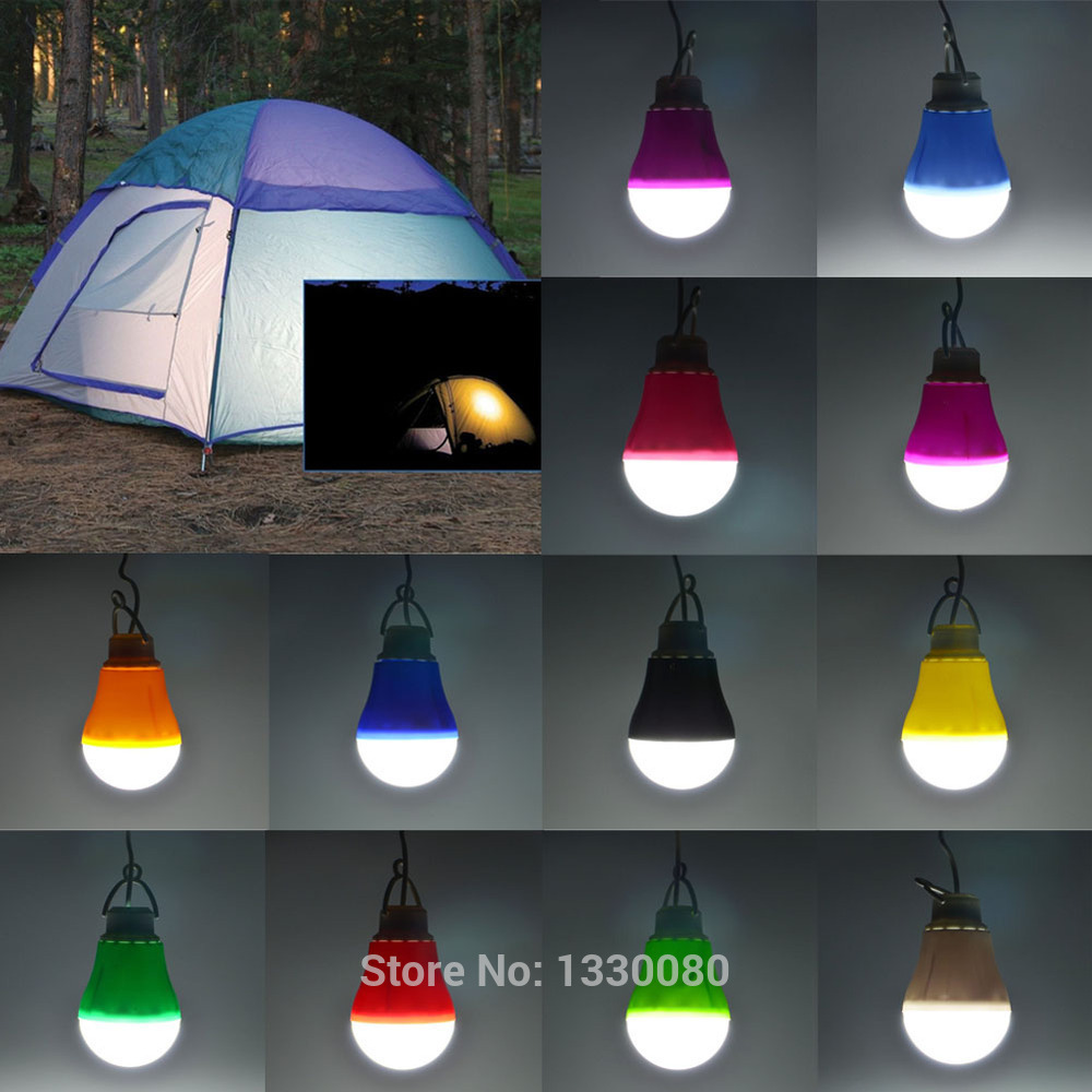 New Arrival Camping Light Portable Pure White Light 190LM 5V 5W USB Powered Bulb LED Lamp Black CS#8(China (Mainland))