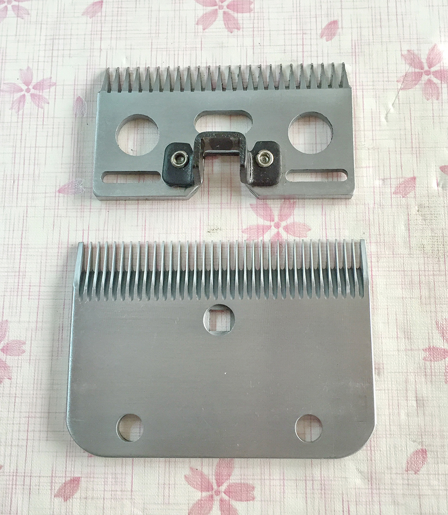 24/35 Teeth SK5 Steel Horse Clipper Blades FIT Most of International Horse Clipper(China (Mainland))