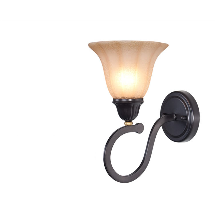 Contemporary Style Iron Wall Lamp Bedroom Bar Cafe E27 40w Wall Light<br><br>Aliexpress