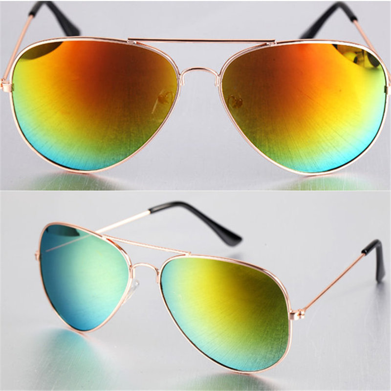 Hot Sale 2015 New Fashion Women Coating Sunglass Frog Mirror Men Sunglasses Arrival Loved Unisex Sun glasses eyeglasses