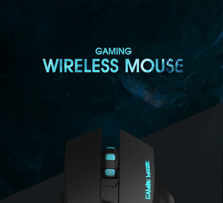 HAVIT 2.4G Wireless Gaming Mouse with 2000DPI 6 Button USB Receiver For PC Laptop Desktop Gamer mouse sem fio raton inalambrico
