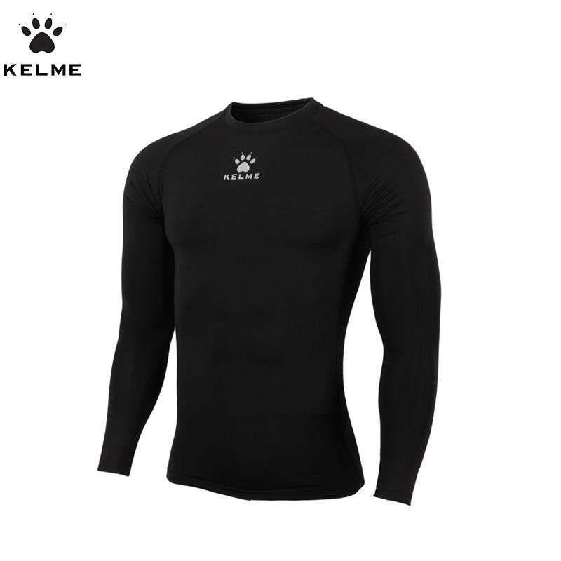 KELME Mens Football Shirt Long Sleeves Soccer Jerseys Comfortable Fitness Body Building Shirt Quick-drying K15Z705(China (Mainland))
