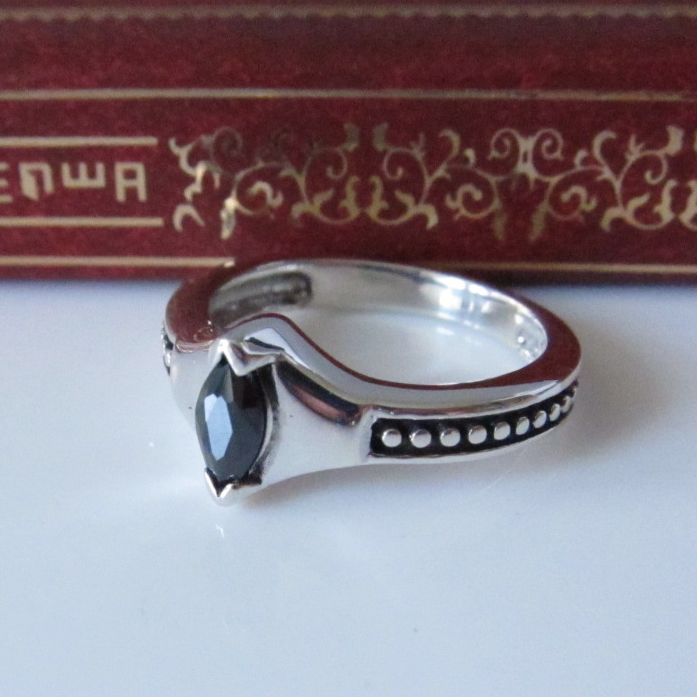 Silver 925 pure silver thai silver vintage male women's ring pinky ring finger ring(China (Mainland))