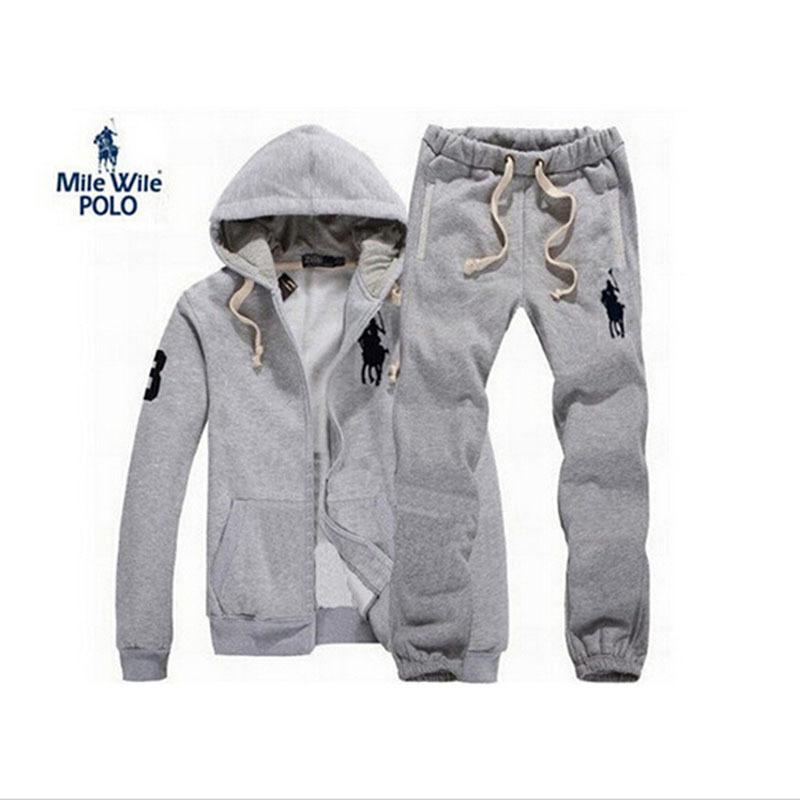 Nouveau 2015 survêtements mens suprême hoodies et sweatsirts Polo masculin Sport Cardigan Set pantalons Sportswear marque sweatshirt(China (Mainland))