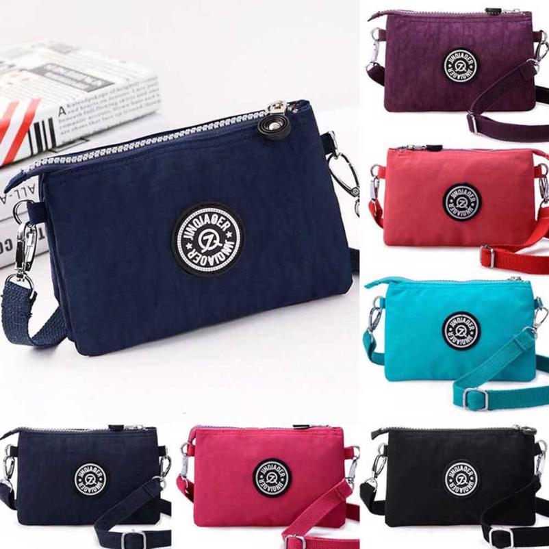 Waterproof Nylon Handbag Shoulder Diagonal Bag Messenger handbag women<br><br>Aliexpress
