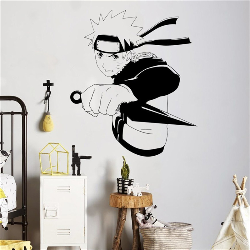 Excellente qualit autocollant manga achetez des lots for Pegatinas pared personalizadas