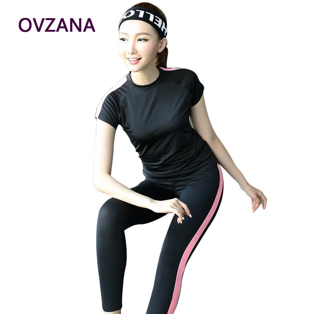 New Arrival 2 Set Fitness Sports Set Sexy Womens Activewear Sets Elastic Women Gym Clothes for Yoga Running Tracksuit Female(China (Mainland))