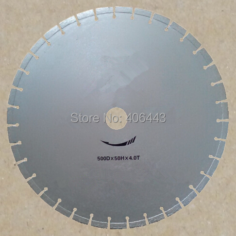 "20"" 500mm Laser Welded Diamond Segmented Saw Blade for Cutting Rinforced Concrete and Asphalt Pavement(China (Mainland))"
