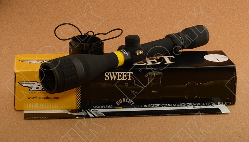 Bsa 3-12x40ao hunting rifle scope with adjustable objectiv free shipping M6634<br><br>Aliexpress