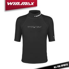 Winmax короткими рукавами купальники гидрокостюмы рубашка rashguard мужчины купальник подводной охоты гидрокостюм кайтсерфинга rashguard