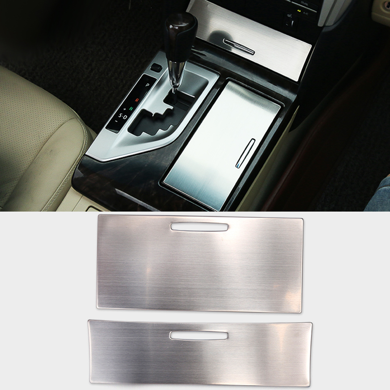 Car Styling Stainless Steel 2pcs/set Storage Box Sequins Decoration Accessories For Toyota Camry 2012-2016 Decoration Sequins от Aliexpress INT