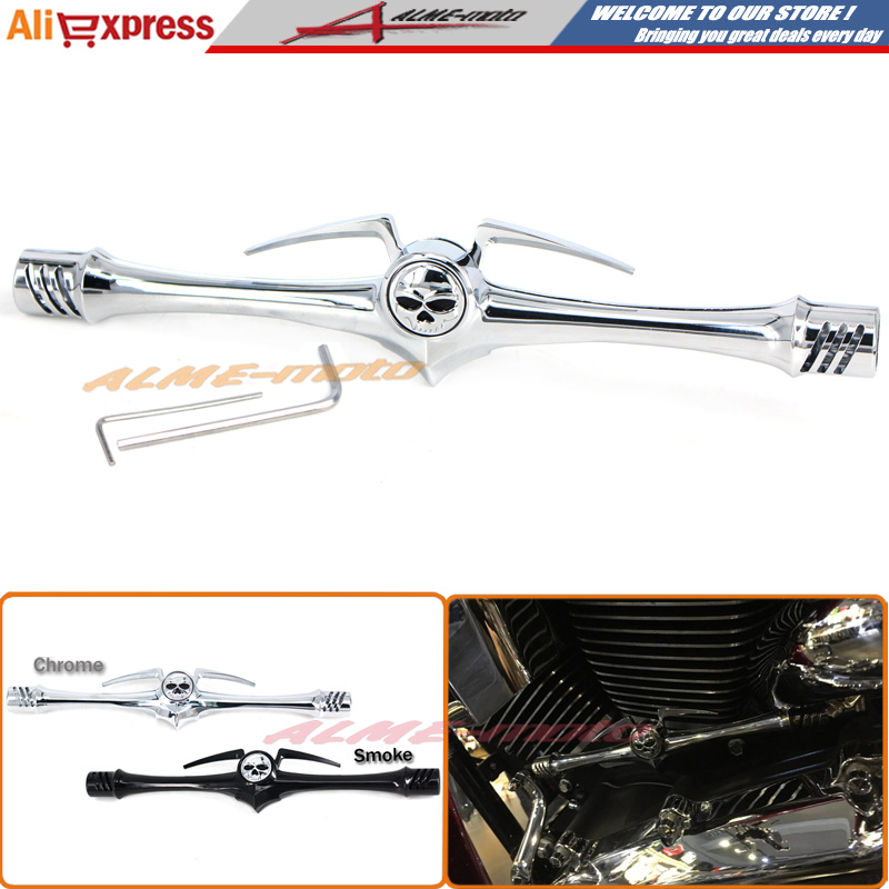 Фотография Motorcycle Metal Chrome Shift Linkage Cover for Harley 1999-2015 Touring & Trike Road Kings Street Glides