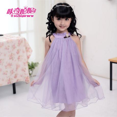 Free shipping Kids 2013 Summer Dress Korean girls princess dress children dress tutu veil dancing child .361(China (Mainland))