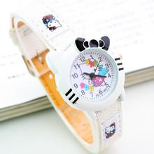 New Cute Hello Kitty Watch Cartoon Watch Fashion Children Kids Boys Girls Students Casual Quartz Analog