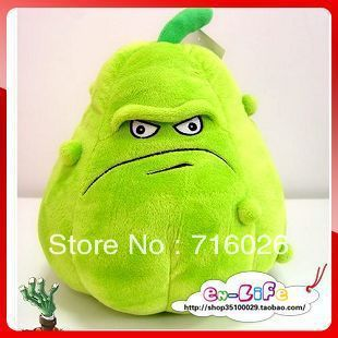 Whole setsimulation Queen Plants vs. Zombies plush toy doll - Large pumpkin toy doll