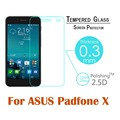 For ASUS PADFONE X 4 5 ZenFone2 0 3mm Screen Protector Explosion Proof High quality 2