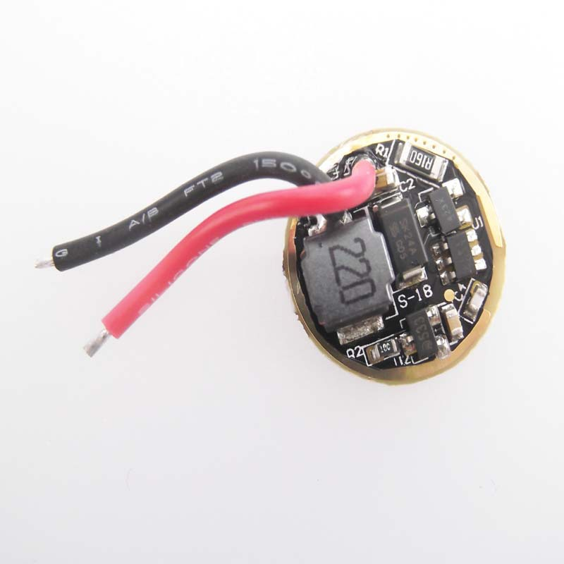 5pcs per lot CREE XML XPL LED 16.8mm 2.7V-14V 1.5A 1-Mode 100% High LED Circuit Board(China (Mainland))