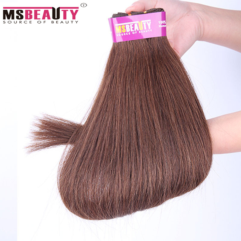 7A Unprocessed Virgin Hair Peruvian Virgin Hair Straight P8/613# Ombre Hair Bundles 18-24Inch Peruvian Straight Human Hair Weft