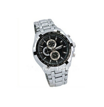Time Show 2014 Curren Male Watch Stainless Steel Watches Men Military Sports Man Hours Fashion Cheap Good Quality Watches(China (Mainland))