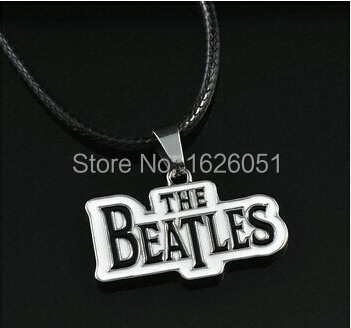 The beatles Rock Music Chain Pendant For Man Woman Lady Girl Boy Fans Leather Necklace movie