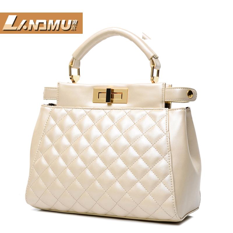 [ Lynx ] 2014 new European and American trends sale handbags business OL casual shoulder bag Messenger bag handbag(China (Mainland))