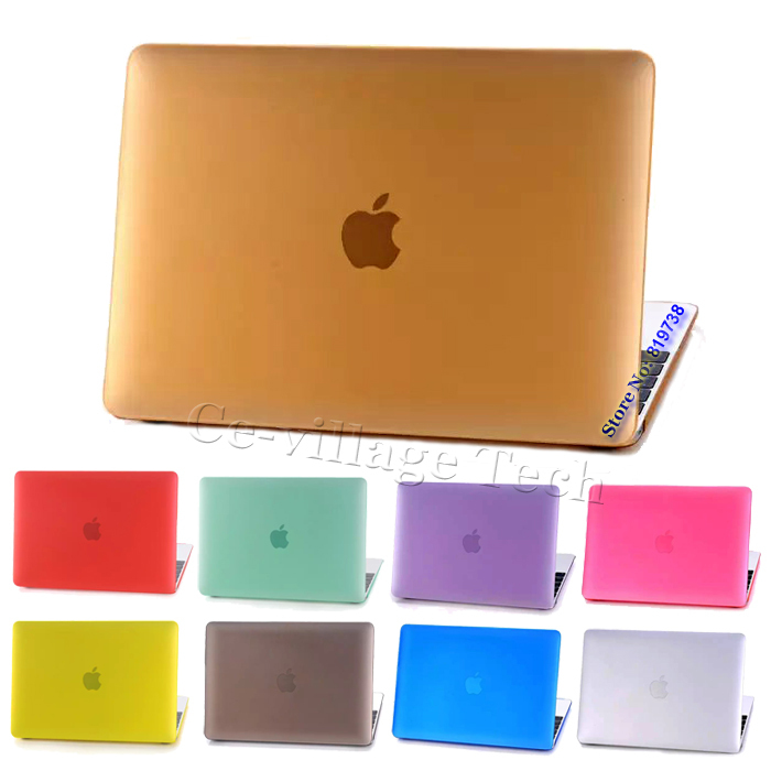 Rubberized Slim Matte Shell Case for Apple MacBook 12inch w/Retina Display (2015 Released) Dull Polish Full Body Laptop Cover(China (Mainland))