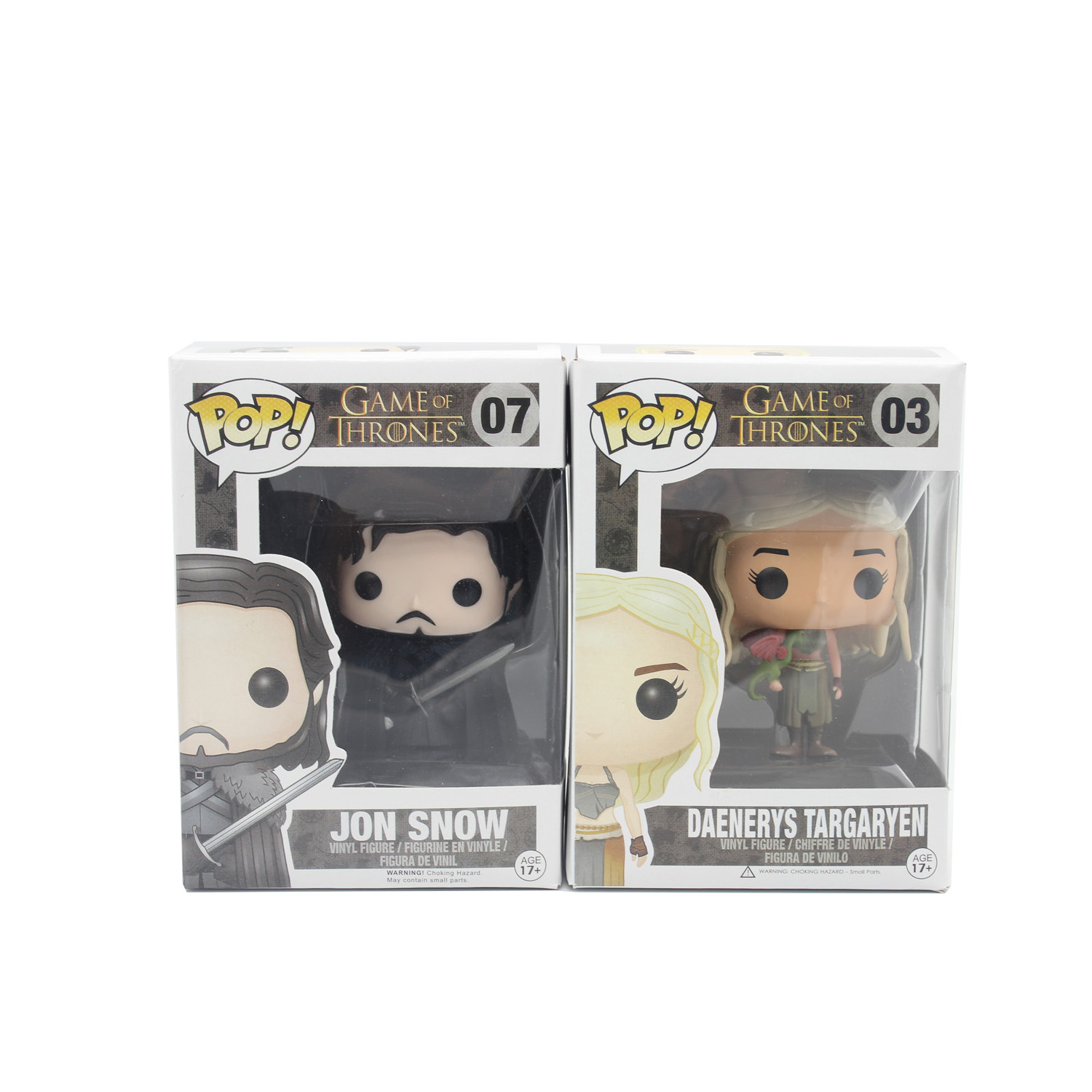 Funko Pop Game of Thrones Jon Snow Daenerys Targaryen PVC Movie Vinyl Movable head Cute Action Figure Collection Gifts Toys(China (Mainland))