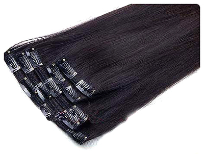 Clip in Extensions For Natural Black Hair Clip in Hair Extension