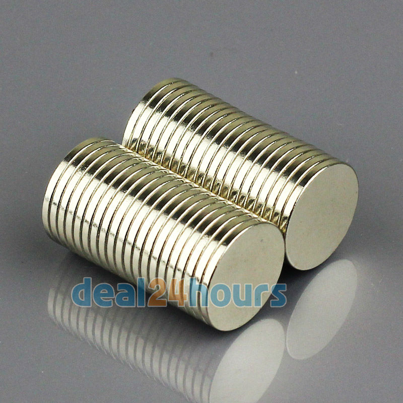 Гаджет  50pcs/lot Grade N35 Super Strong Round Disc Rare Earth Neodymium 15mm x 1.5mm Magnets Free Shipping None Строительство и Недвижимость