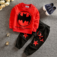 Buy Batman Children Boys Clothing Set Long Sleeve Baby Boy Casual Sports Suits Kids 2pcs Sets Spring Autumn Clothes Tracksuits for $8.70 in AliExpress store
