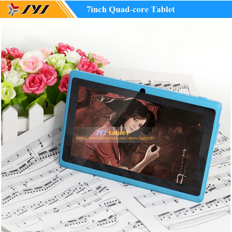 Azure 7 inch Allwinner A33 Quad Core Android 4.4 Tablet PC Dual Cameras WiFi 1.6GHz ROM 16GB Tablet(China (Mainland))