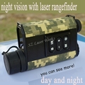 6X32 digital monocular infrared day and night vision goggles with rangefinder and compass Night Vision telescope