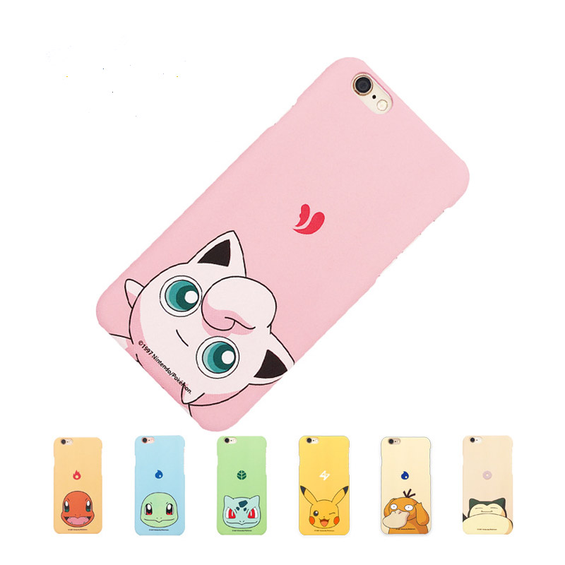 Fashion Case For Pokemons Go Game Team Plastic Pokeball Phone Case Cover For iPhone 6 6S 6Plus 6S Plus Custom Phone Cases(China (Mainland))