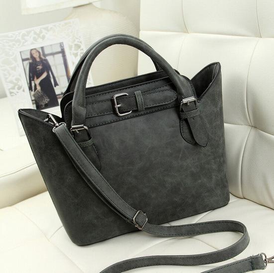 New arrival Fashion classical frosted PU leather women bag all-match leather handbag vintage messenger bag shoulder bag WLHB1192<br><br>Aliexpress