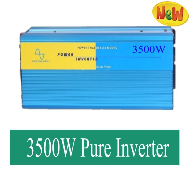 3.5kw 3500W 3500 Watt Pure Sine Wave Power Inverter Home Car DC 24V to AC 110<br><br>Aliexpress