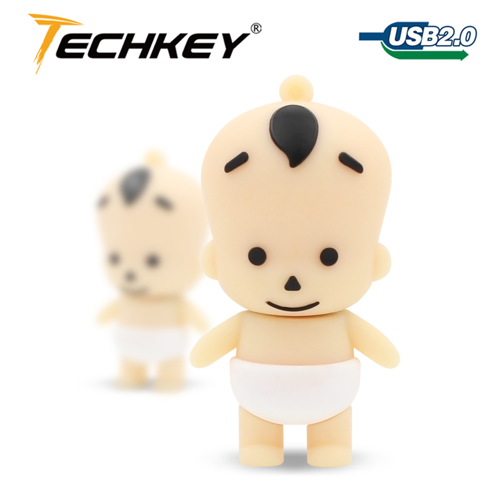 Cartoon lovely boy baby kid Shape USB Memory Flash Drive 2GB 4GB 8GB 16GB 32GB thumb stick cartoon pendrive flash disk u disk(China (Mainland))