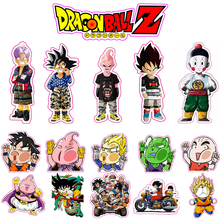 Buy 16 Pieces/Set 6cm Dragon Ball Z Stickers Super Saiyan Reusable Dragonball Fixed Gear Luggage Sticker Car Sticker Free Ship for $11.31 in AliExpress store