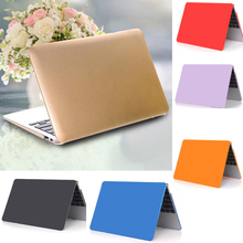 "Free Shipping Crystal Clear Matte Rubberized Hard Case Cover For 13"" Laptop PC Shell For Macbook Air Pro(China (Mainland))"