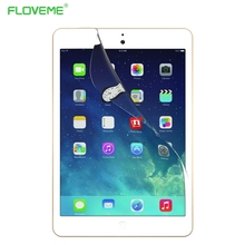 2pcs/lot For Apple iPad 6 Air 2 Clear Soft Screen Protector Front LCD Screen Guard Protective Film For iPad Air 2(China (Mainland))