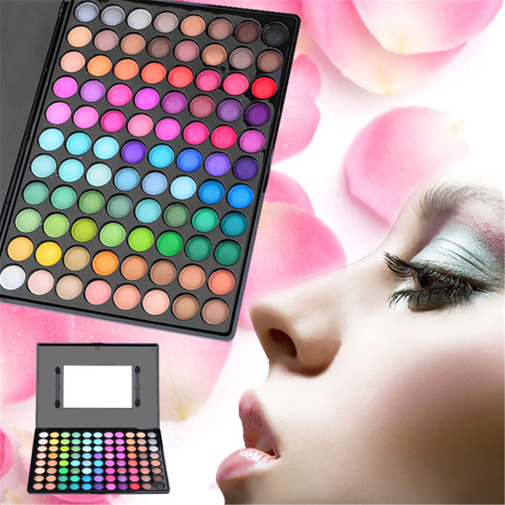 New 88 Colors Natural Ultra Shimmer Matte Eye shadow Professional Makeup Eyeshadow Palette Beauty Make up Set With Makeup Mirror(China (Mainland))