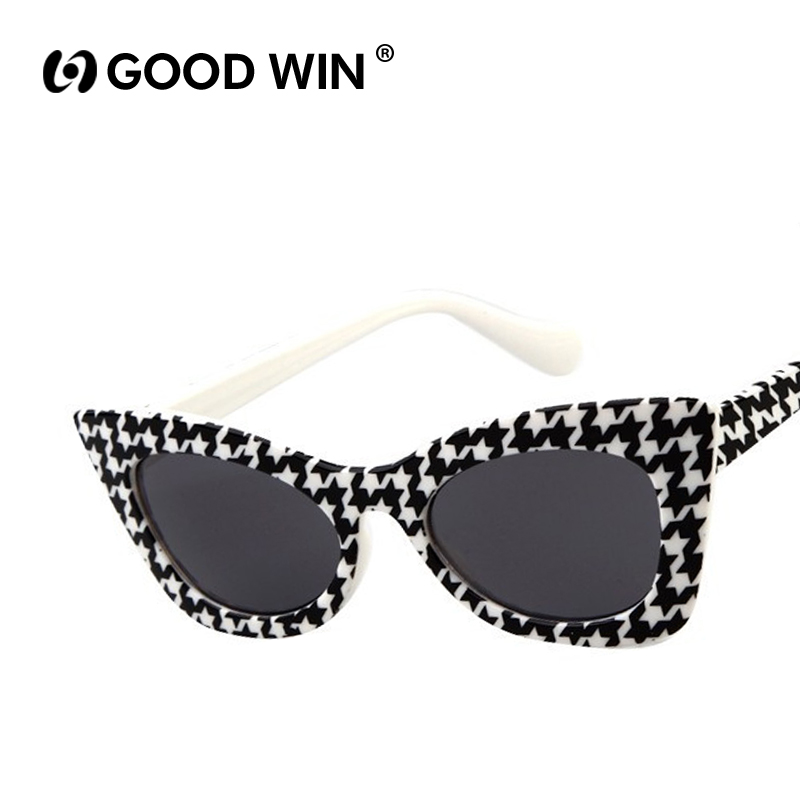 Brand Designer 2015 New Fashion Cat Eye Glasses Kids Sunglasses Vintage Coating Sunglass gafas de sol K13055 oculos