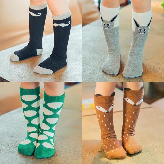Розничная мягкий эластичный хлопка прекрасный девушка носки 20 цвета милые дети носки ...