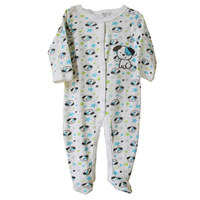 Brand Cartoon Cotton Baby Rompers Jumpsuit Comfortable Clothing For New Born Babies 0-9M Baby Wear Newborn Unisex Baby Clothing(China (Mainland))