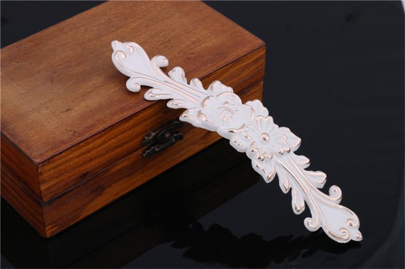 Гаджет  Bengear European Luxury Elegant Flower Design Cupboard handle Ivory Color Cabinet Drawer Wardrobe Pull Handle G457 None Мебель