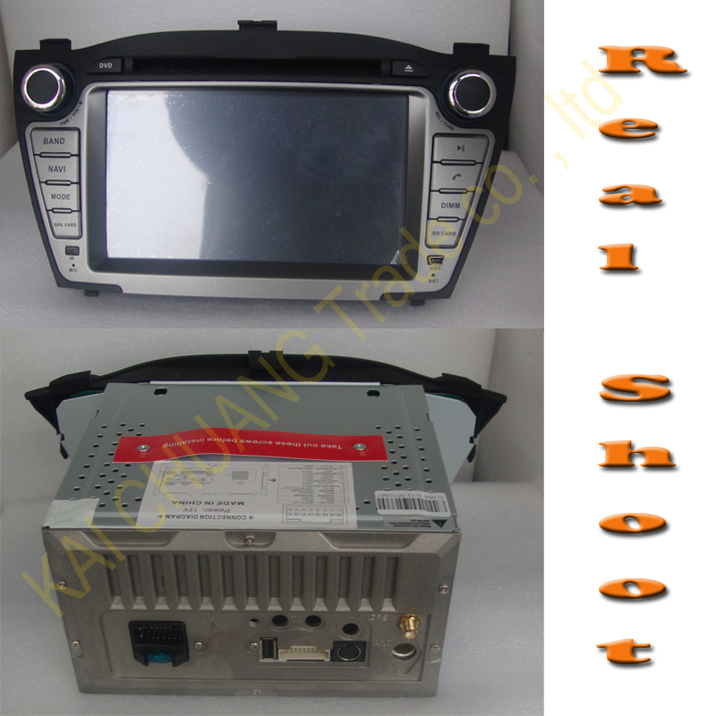 7 Digital Touch Screen Car DVD Player for Hyundai TUCSON IX 2009-2012 New style with GPS NAVI bluetooth IPOD TV DVD Navigater<br><br>Aliexpress