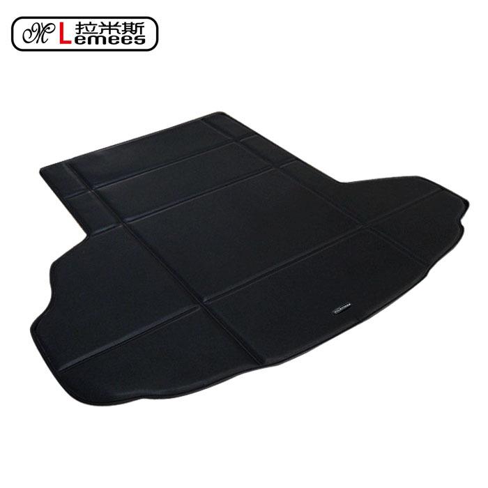leather PU wateproof non slip car trunk mats pad warehouse in high class PU leather for Jaguar XF XJ XK<br><br>Aliexpress