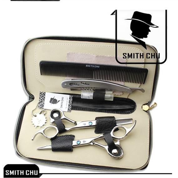 SMITH CHU 6.0Inch Hair Scissors Kit JP440C Cutting Scissors &amp; Thinning Scissors Professional Hairdressers Scissors Set, LZS0006<br><br>Aliexpress