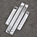 High Quality 4 Piece external stainless steel door sill scuff plate for Honda CRV CR V
